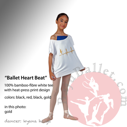 Ballet Heart Beat Gold