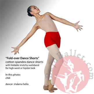 Dance Shorts Fold-over
