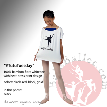 Dance Tee #Tutu Tuesday Black