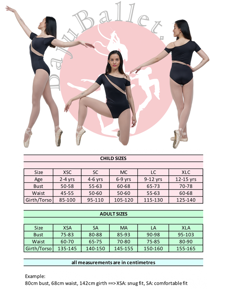 2019 Collection L39 Sizing Chart